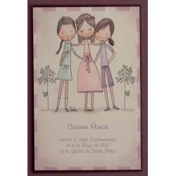 Bebé rosa calendario
