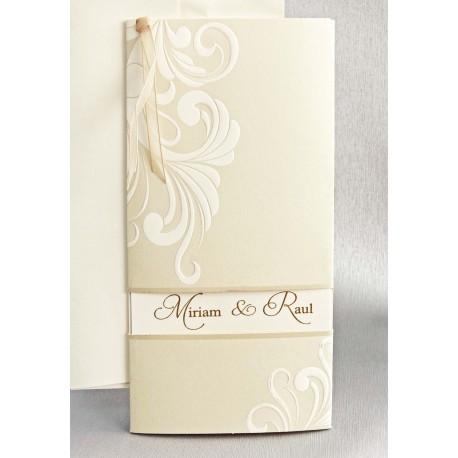 Espejo boda personalizado con cajita