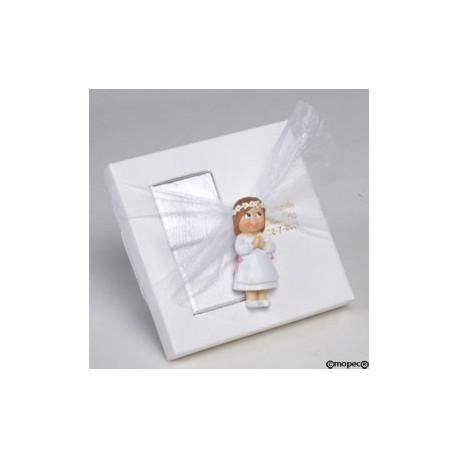 Punto libro metal mariposa en caja regalo