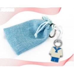 Cuelga bolsos corazón en caja 2 napolitanas