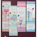 Colgante móvil bebé rosa c/cajita de regalo