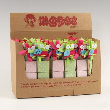 Llavero niña comunión rosa c/caja regalo rosa