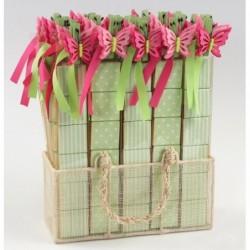Maceta flor sujeta-tarjeta stda