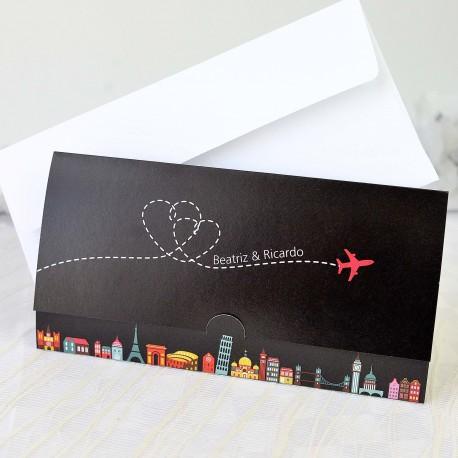 Niña Comunión rosario portafoto/tarjeta