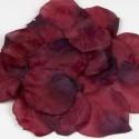 Flecos de papel seda en morado