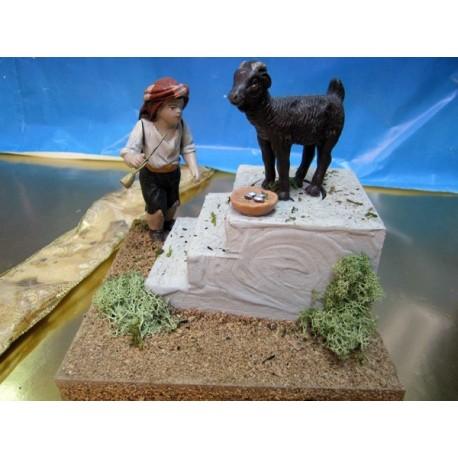 Figura pastel comunión niño