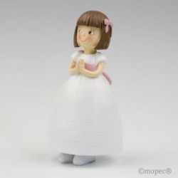 Figura tarta comunión vestido princesa