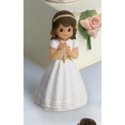 Niña comunión rosario