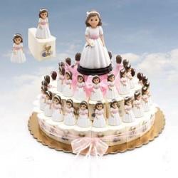 Presentación tarta cajitas...