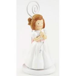Portafoto niña rosario