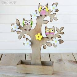 Joyero árbol de madera