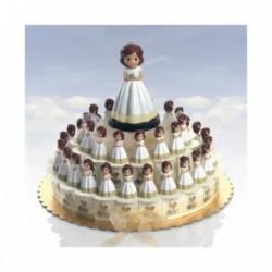 tarta 23 cajitas niña de...