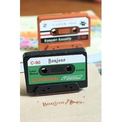 """Sello cassette """"Bonjour""""..."""