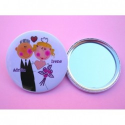 Espejo boda personalizado 3