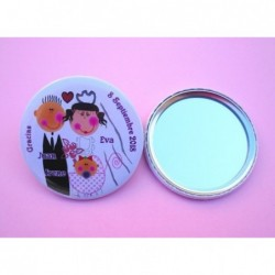 Espejo boda personalizado 4