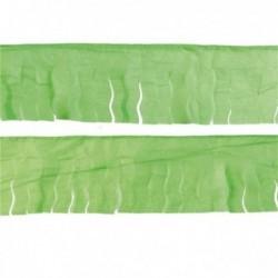 Flecos de papel seda en verde