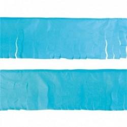 Flecos de papel seda en azul