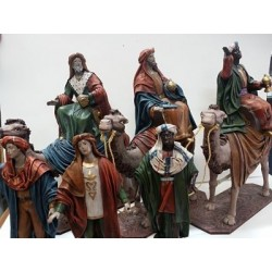 Reyes Magos y pajes