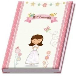 Álbum de comunión de niña