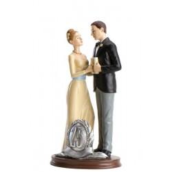 Pareja novios bodas de plata