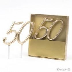 Decoración tarta 50...