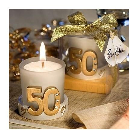 Vela 50 aniversario - Proveedores de velas ...