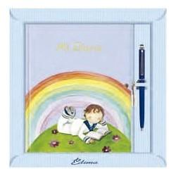 Diario niño arco iris