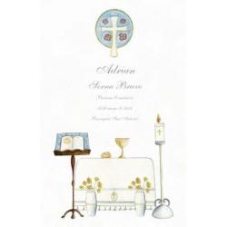 Estampa altar iglesia