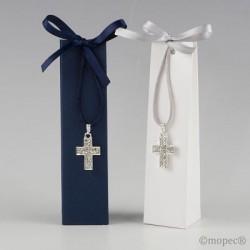Colgante cruz en caja
