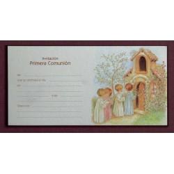 Invitación niños capilla