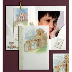 Portafoto niños capilla