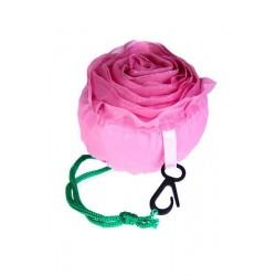 Bolsa plegable rosa