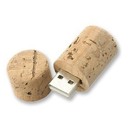USB tapón corcho
