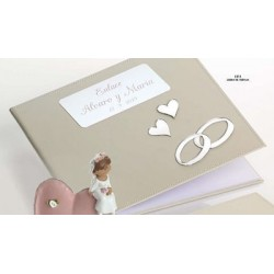 Libro de firmas de bodas