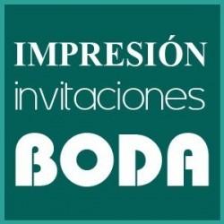 Impresión Invitaciones