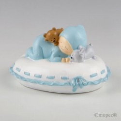 Figura pastel bebé niño...