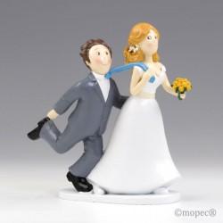 """Figura pastel boda """"Si o..."""
