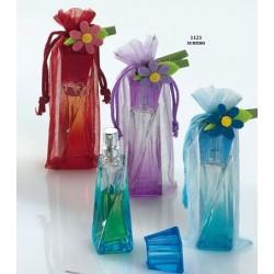 Frasco de cristal con perfume