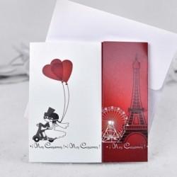 Invitación de boda Paris