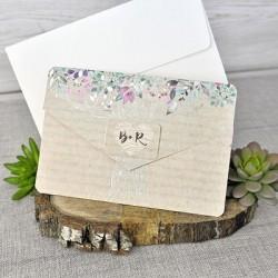 Invitación de boda motivos...