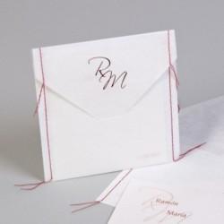 Invitación de boda Handmade...