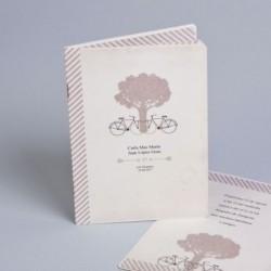 Invitación boda bicis...
