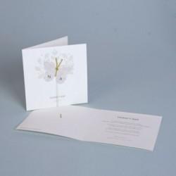 Invitación de boda mariposa