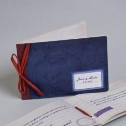 Invitación de boda scrapbook