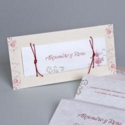 Invitación de boda Isabella
