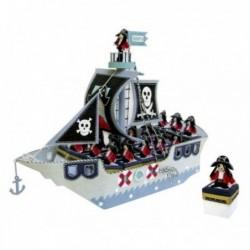 Expositor barco pirata + 16...