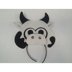 Diadema animalito vaca