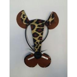Diadema animalito leopardo