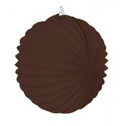 Farolillo marrón chocolate