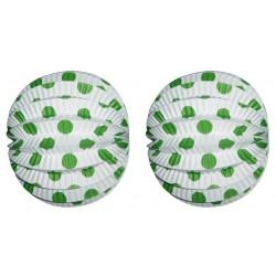 Farolillo blanco lunar verde